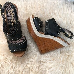 Jessica Simpson Wedge Heels Sz 7